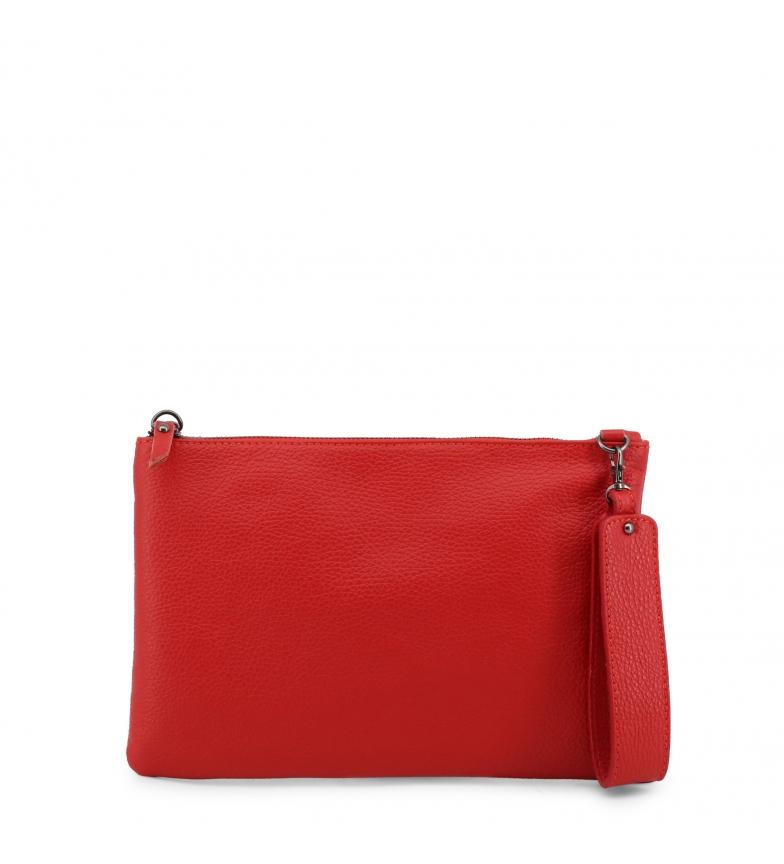 Comprar Made In Italia Clutch de piel MIRANDA red -30x20x2cm-