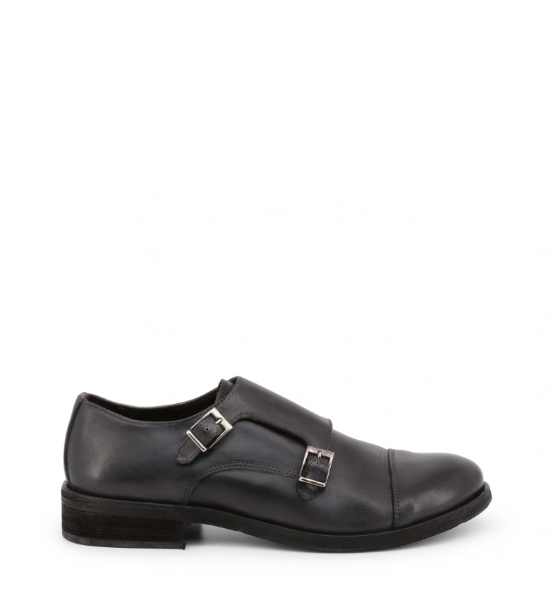 Comprar Duca di Morrone ALAN grey leather shoes