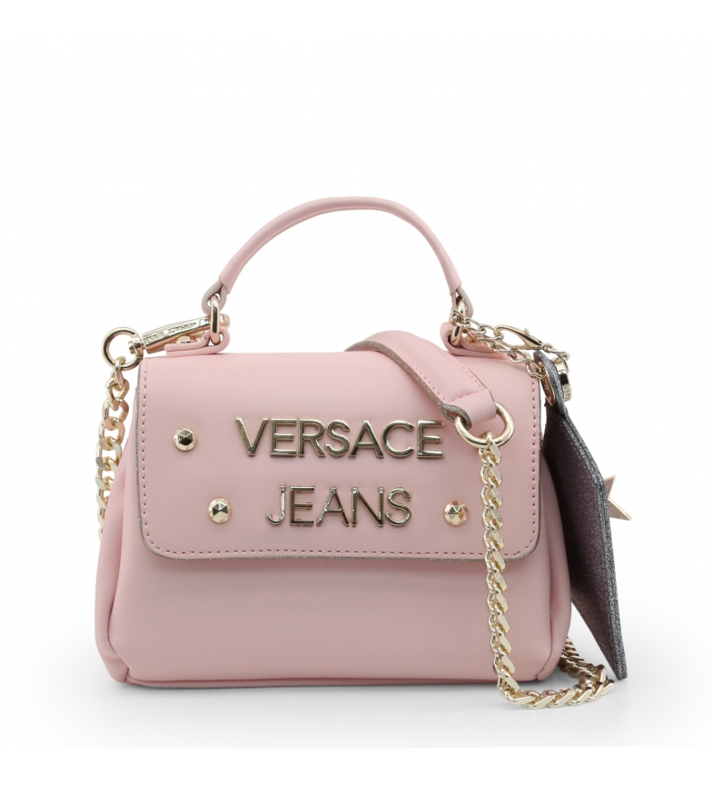 Dettagli su Versace Jeans Borsa a mano E1VTBB22_71111 rosso 18x12,5x9cm Donna Rosa