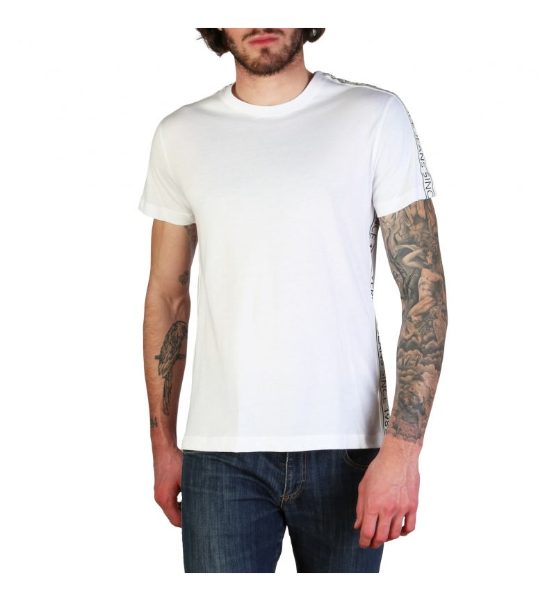 Comprar Versace Jeans Camisetas B3GTBB7S1_11620 branco