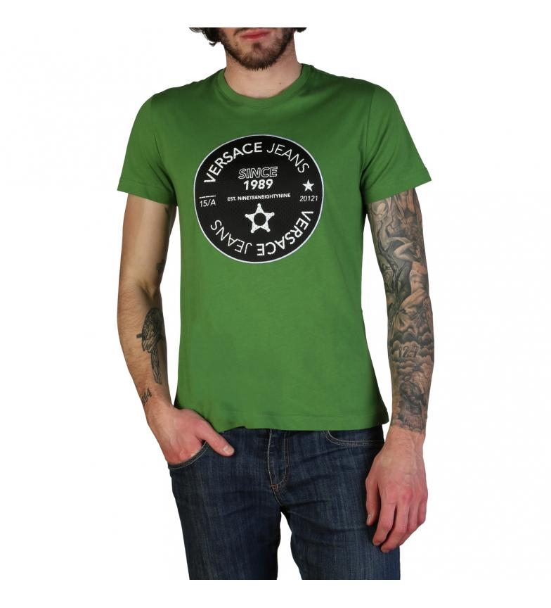 Comprar Versace Jeans T-shirt B3GTB76J_36610 verde