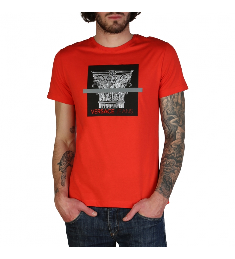 Comprar Versace Jeans T-shirts B3GTBB71C_30134 vermelho