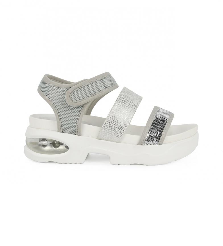Comprar Chika10 Sandales Eloisa 02 argent - Hauteur de plate-forme : 5,5 cm