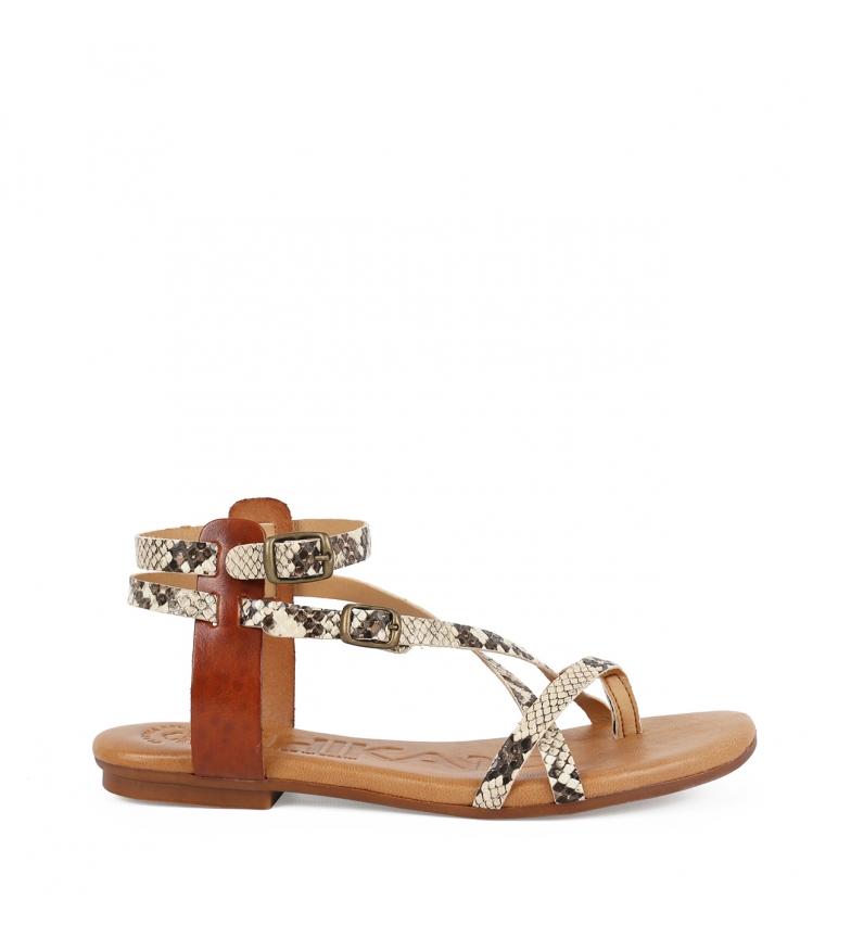 Comprar Chika10 Sandalias de piel Orinoco 04 snake