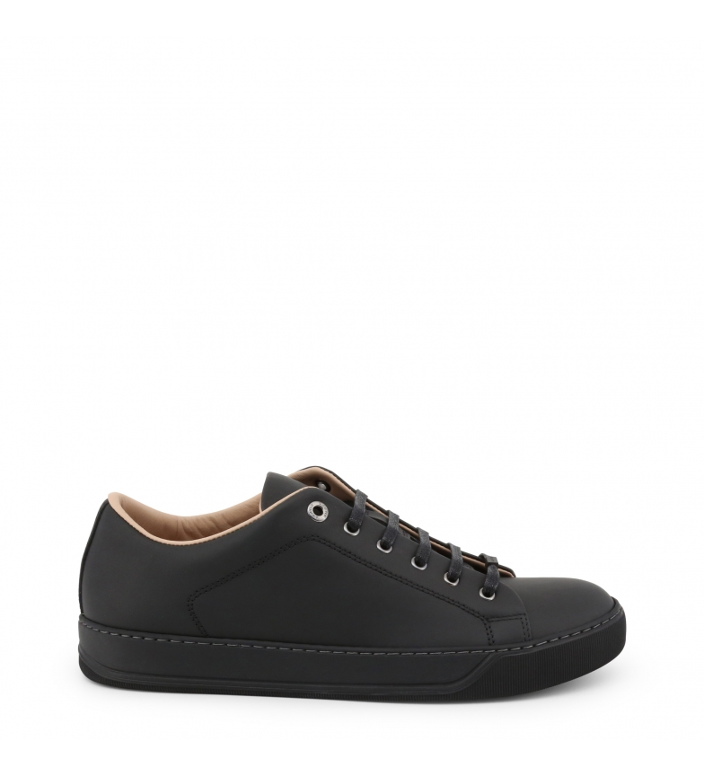Comprar Lanvin Leather Sneakers FM-SKDBNC-VNAP-P18 black