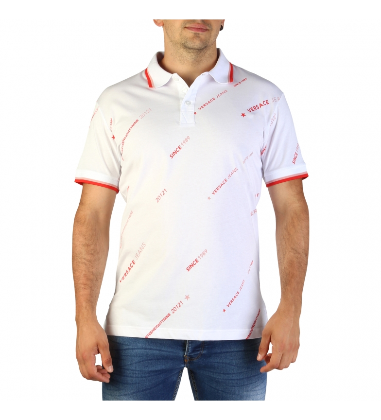 Comprar Versace Jeans Polo B3GTBB7P8_36610 branco
