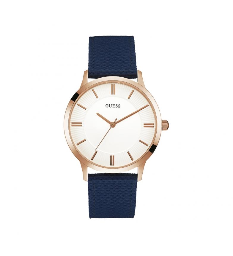 Comprar Guess W0795 orologio blu