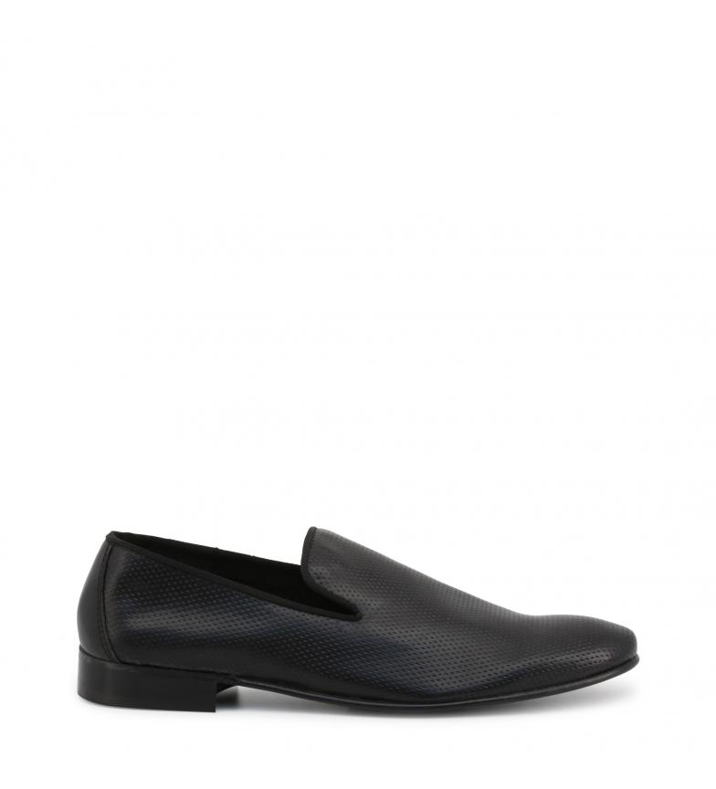 Comprar Duca di Morrone GERRY black leather moccasins