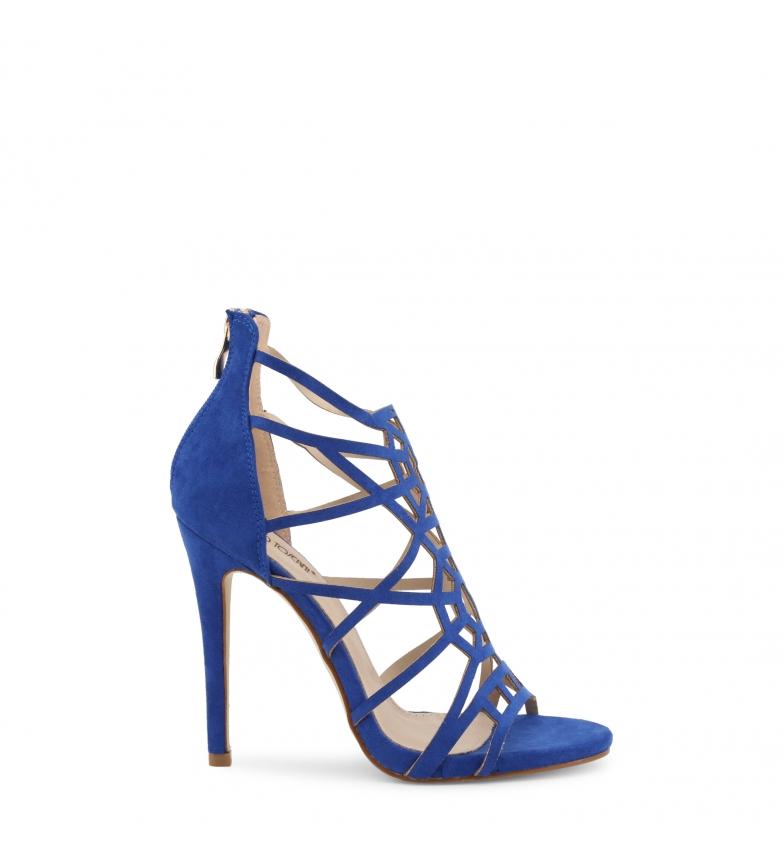 Comprar Arnaldo Toscani Sandálias 1218040 azul - Altura do calcanhar: 11,5 cm