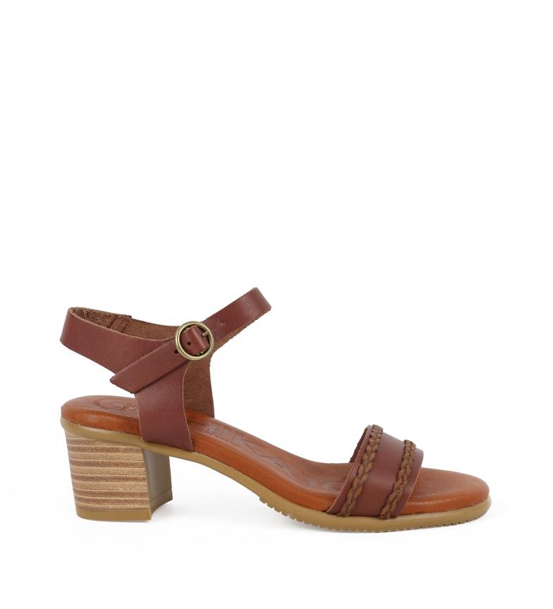 Comprar Chika10 Sandalias de piel Tivoli 03 marrón