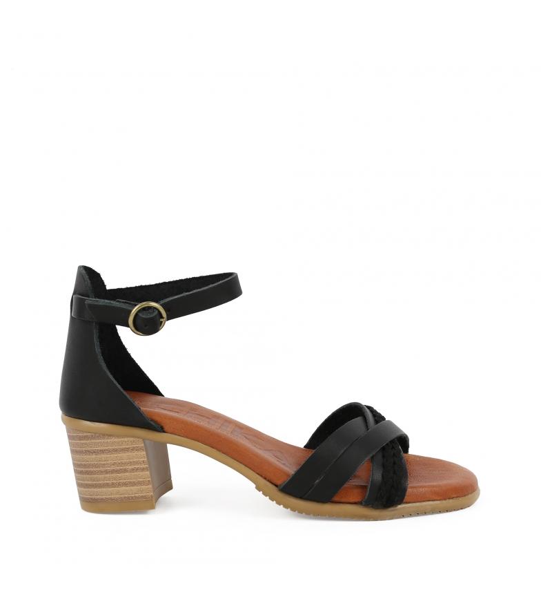 Comprar Chika10 Tivoli 01 leather sandals black