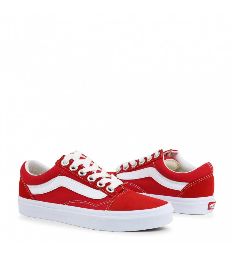 vans old skool femme orange