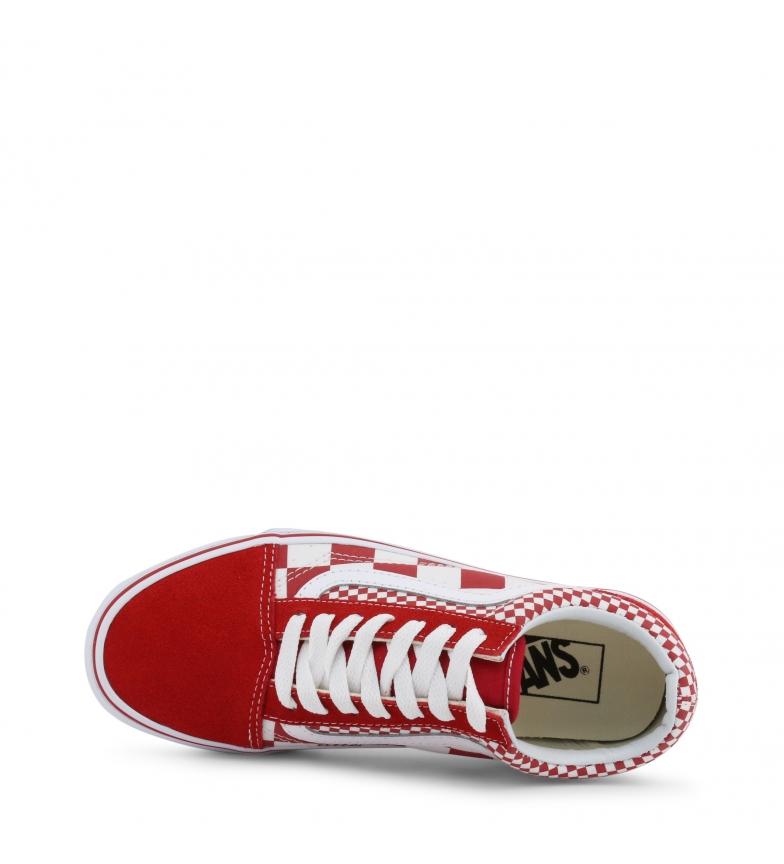 best cheap 925d6 4a761 Dettagli su Vans - Sneakers OLD-SKOOL rosa Donna Rosso Giallo Arancione Blu  Bianco Nero