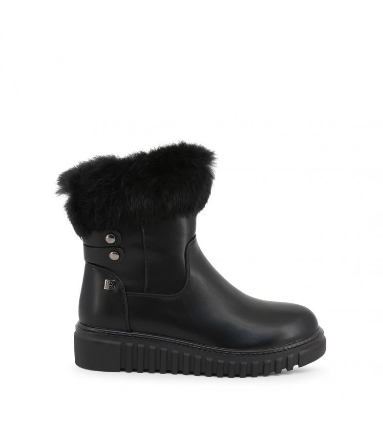 Comprar Laura Biagiotti 5875-19_CALF-FUR botas pretas