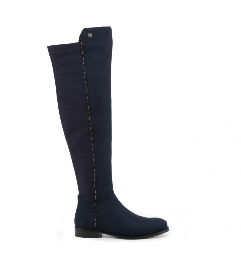Comprar Laura Biagiotti Boots 5864-19_MICRO-LYCRA blue