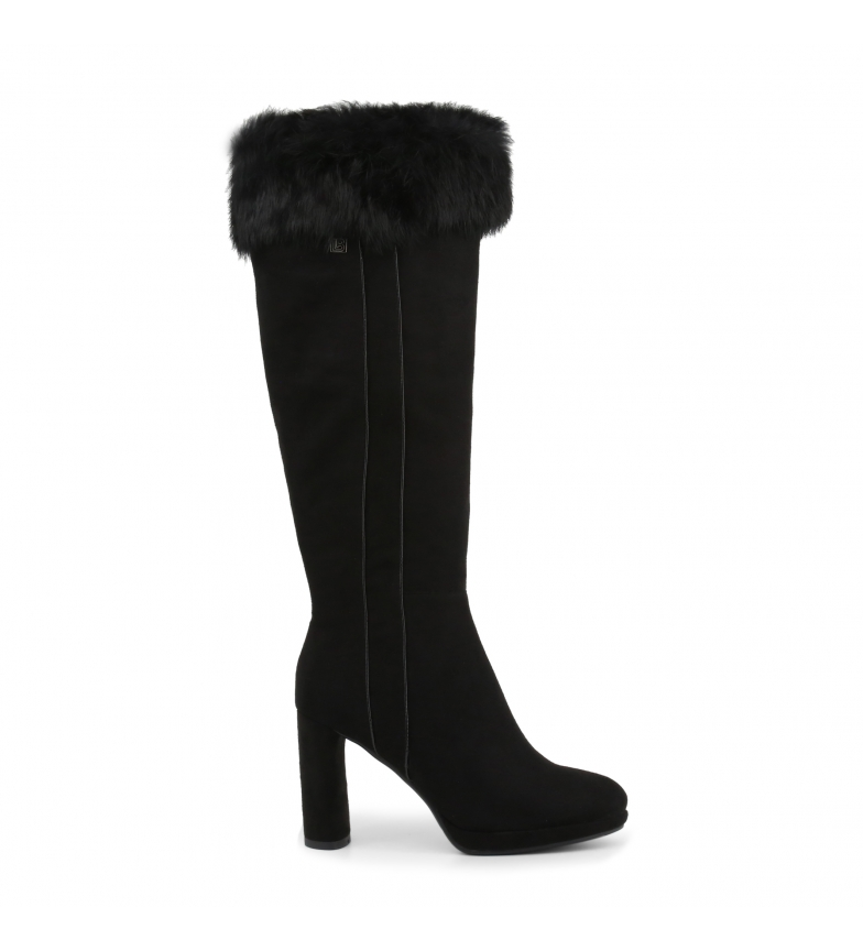 Comprar Laura Biagiotti Boots 5847-19_MICRO-FUR black -Heel height: 9cm