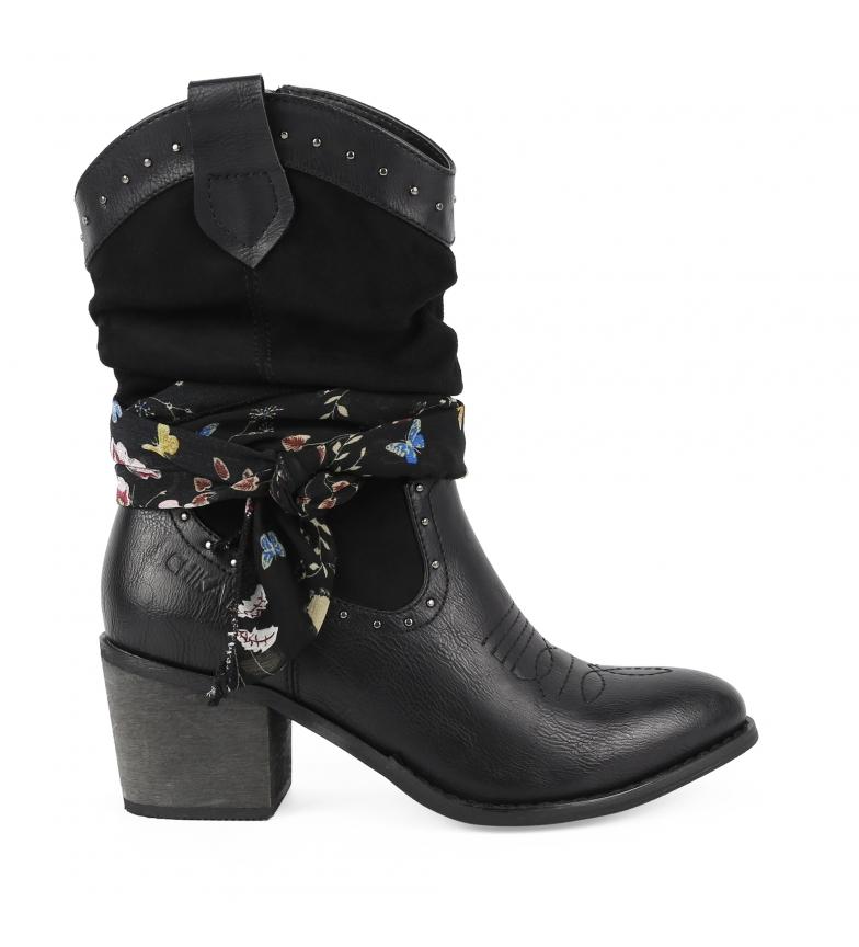 Comprar Chika10 Lily 01 black boot -Heel height: 7cm