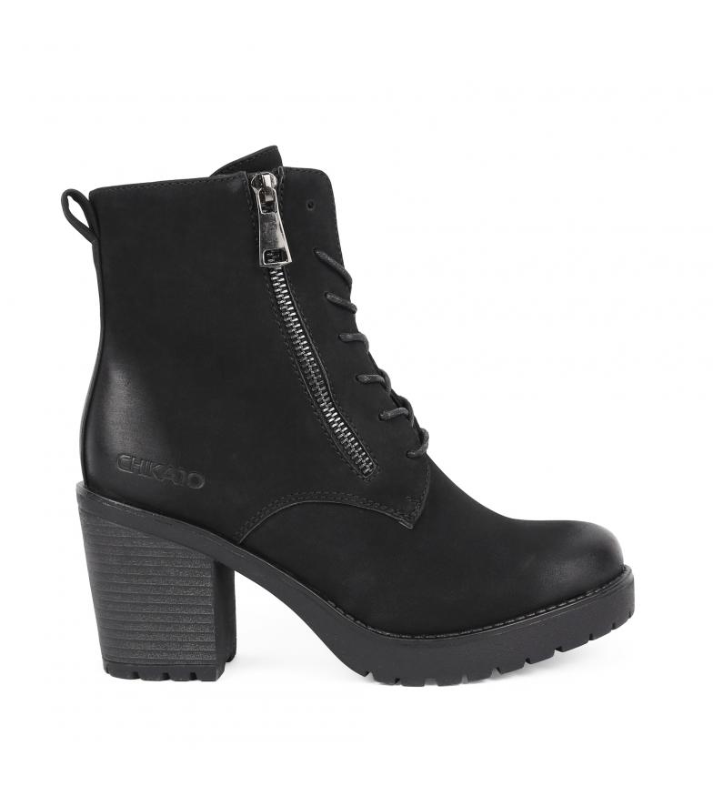 Comprar Chika10 Margaret 01 black booty -heel height: 6.5cm