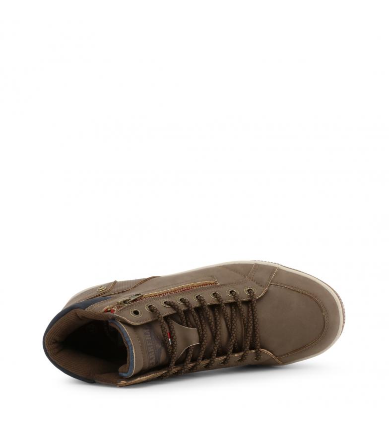 Carrera-Jeans-Botines-CAM925030-brown-Hombre-chico-Marron-Plano-Cordones miniatura 4