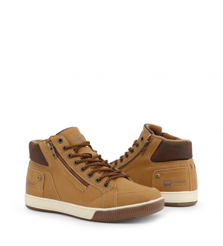 Carrera-Jeans-Botines-CAM925030-brown-Hombre-chico-Marron-Plano-Cordones miniatura 7