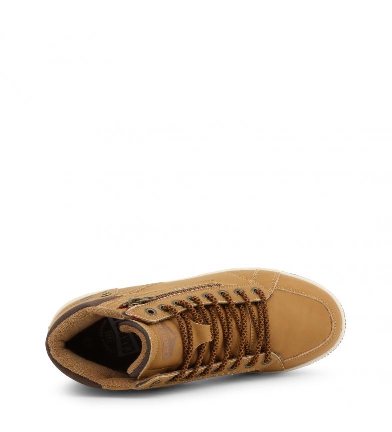 Carrera-Jeans-Botines-CAM925030-brown-Hombre-chico-Marron-Plano-Cordones miniatura 8