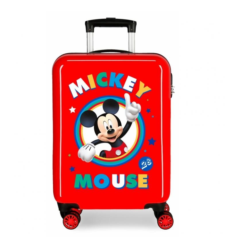 Comprar Mickey Mala de Cabine Rígida Vermelha Mickey -38x55x55x20cm