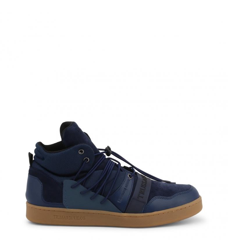 Comprar Trussardi <font color=#00FF00>? Sneakers 77A00099 ? <font color=#00FFFF>Blue