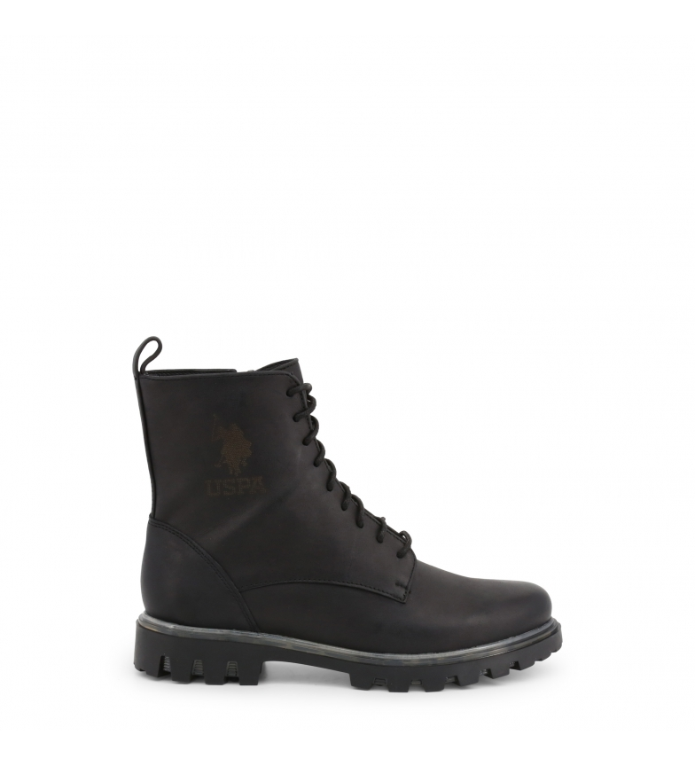 Comprar U.S. Polo Assn. Leather Boots AVENE4073W9_L1 black
