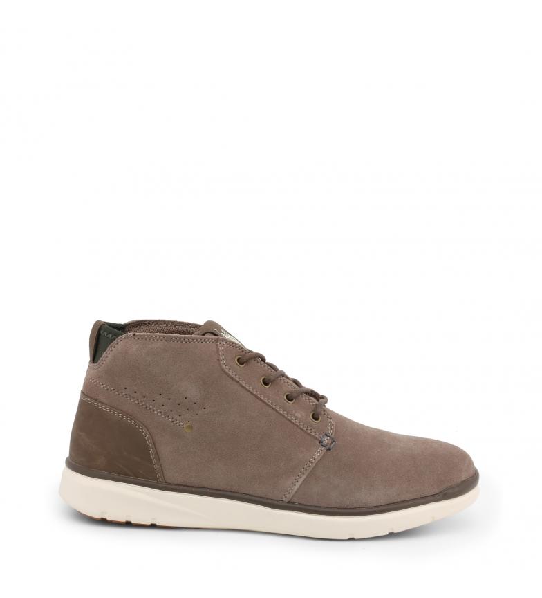 Comprar U.S. Polo Assn. Sapatos com atacadores YGOR4128W9_SY1 castanho