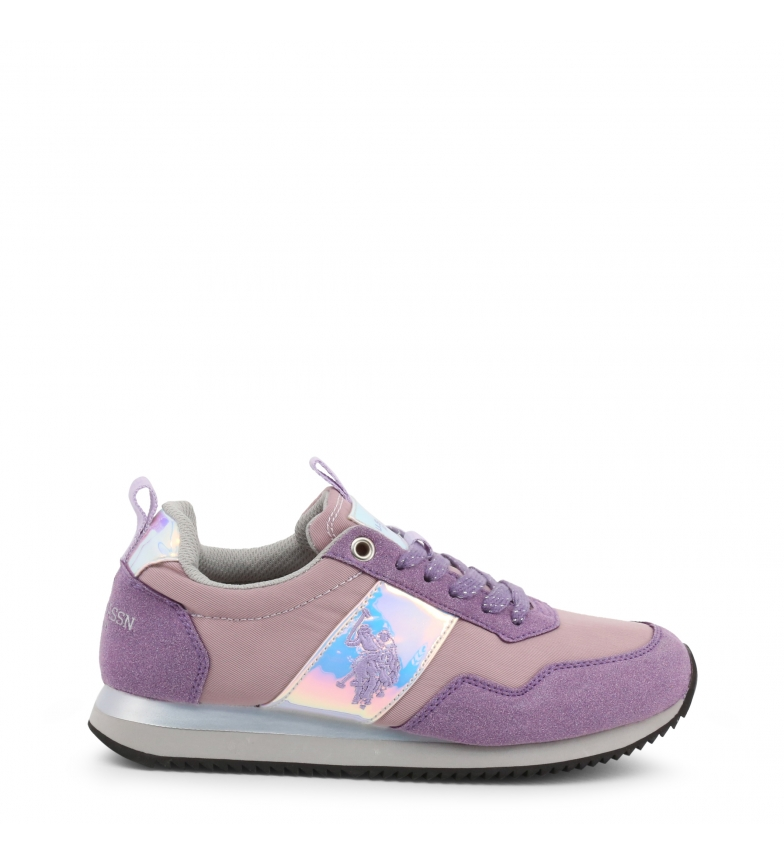 Comprar U.S. Polo Assn. Sneakers viola NOBIW4156S9_NS1