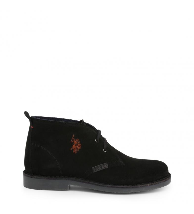 Comprar U.S. Polo Assn. Chaussures avec lacets MUST3119S4_S19A noir