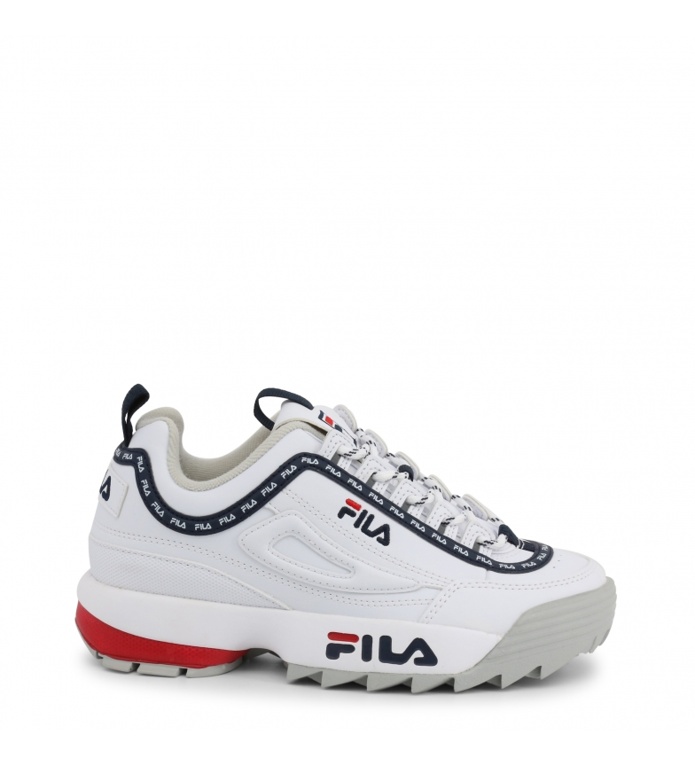 Comprar Fila Sneakers DISRUPTOR-LOGO-LOW_1010748 white Platform height: -4cm