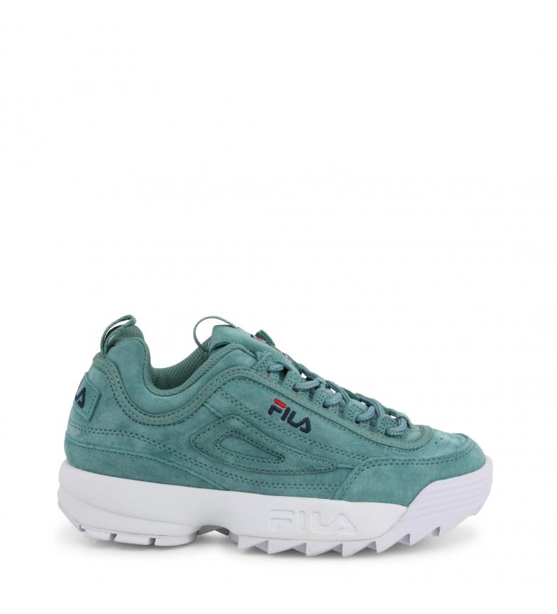 Comprar Fila Sneakers DISRUPTOR-S-LOW_1010605 verde Altezza piattaforma: -4cm-