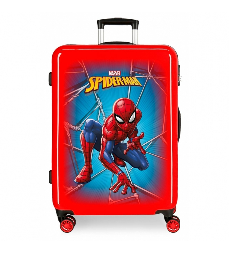 Comprar Spiderman Maleta mediana Spiderman Black rígida rojo -68x48x26cm-