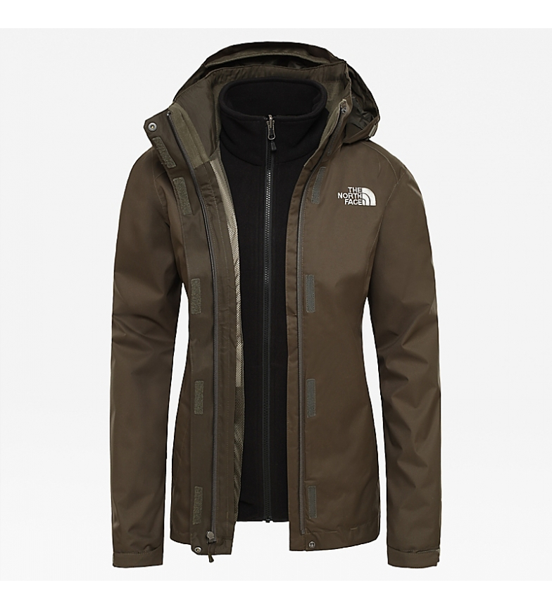 Comprar The North Face Giacca Evolve II verde, nero / Triclimate