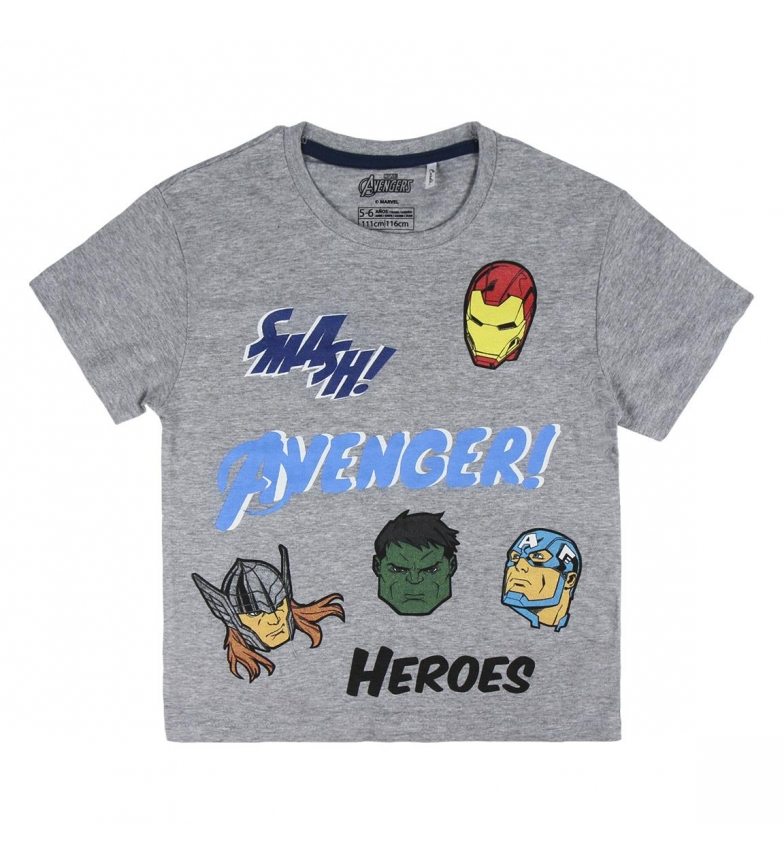 Comprar Marvel Pigiama Short Single Avengers grigio