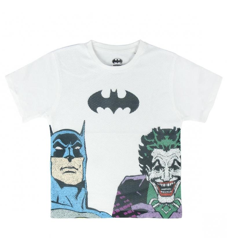 Comprar Batman Camiseta Corta Premium Batman blanco