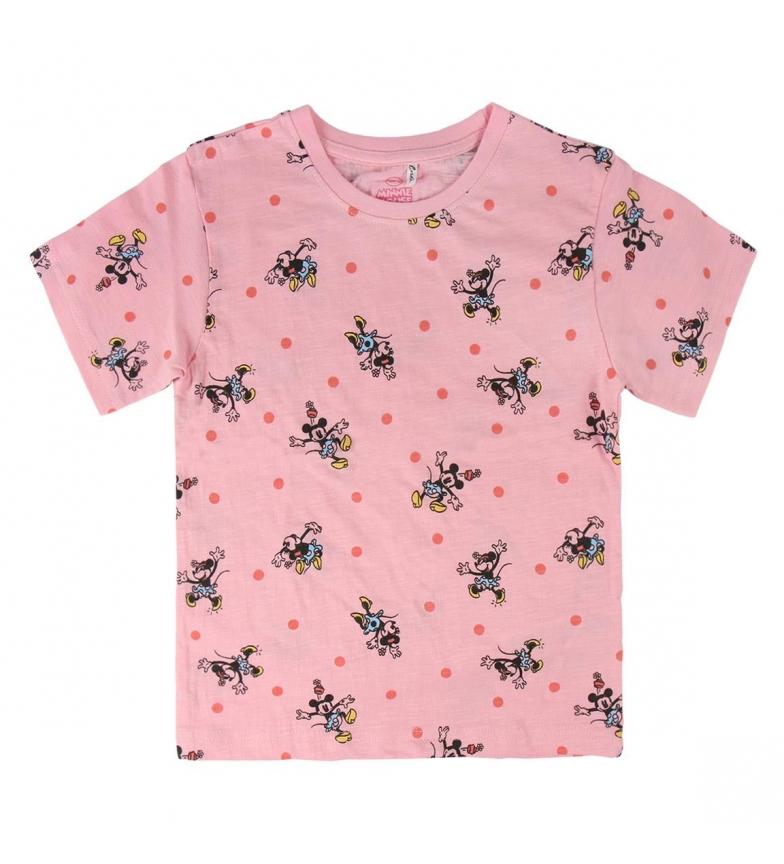 Comprar Minnie Camiseta Corta Premium Minnie rosa