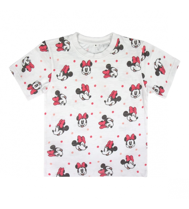 Comprar Minnie Camiseta Premium Single Minnie blanco