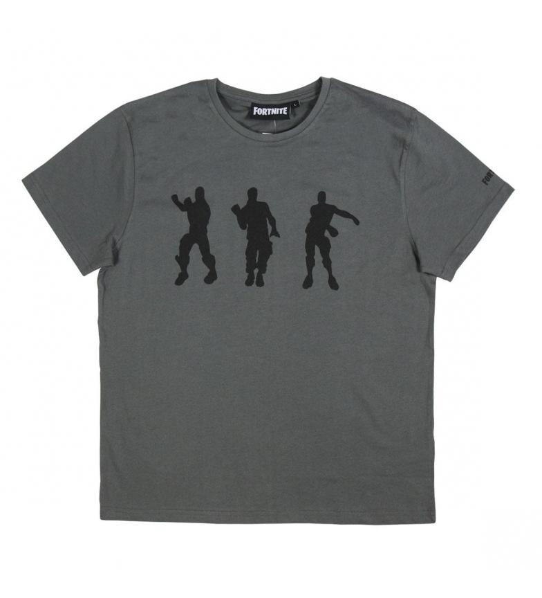 Comprar FORTNITE Camiseta cinza Fortnite Single Jersey t-shirt cinza