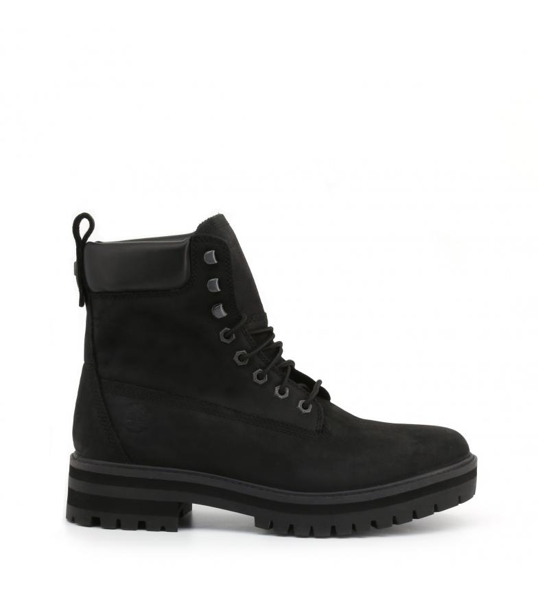Comprar Timberland CURMA-GUY bottes en cuir noir