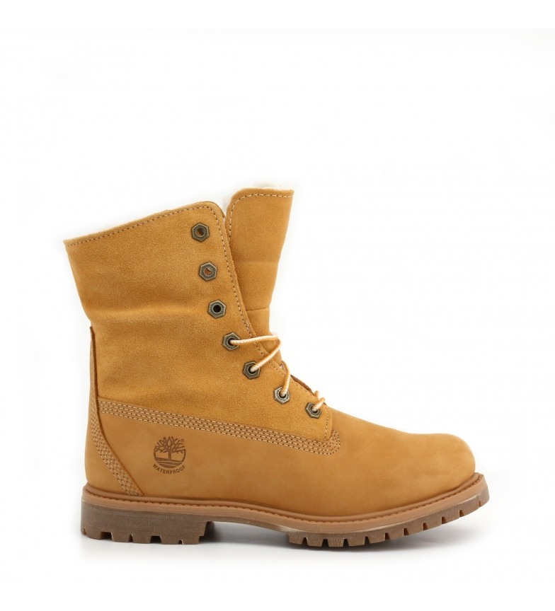 Comprar Timberland AUTH-TEDDYFLEECE brown leather boots