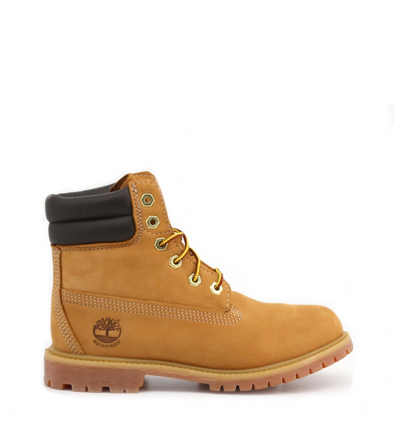 Comprar Timberland 6IN-DBL-COLLLAR botas de couro castanho