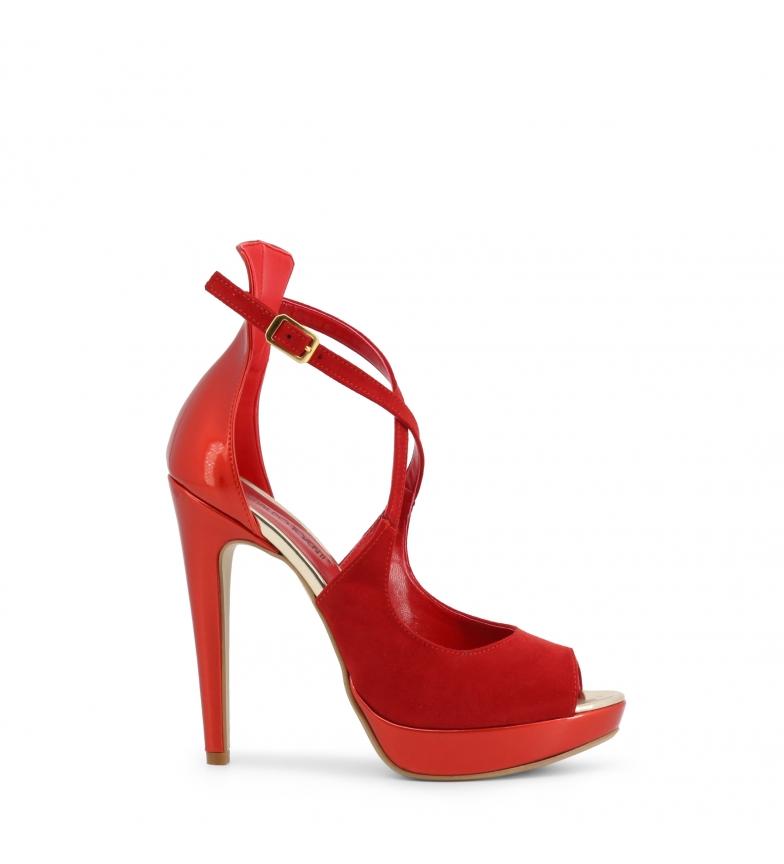 Comprar Arnaldo Toscani Sandálias de calcanhar 1218037 vermelho - Altura do calcanhar: 13cm