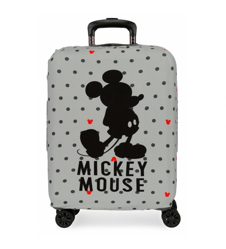 Comprar Mickey Funda para maleta de cabina Mickey gris -38x50x20cm-