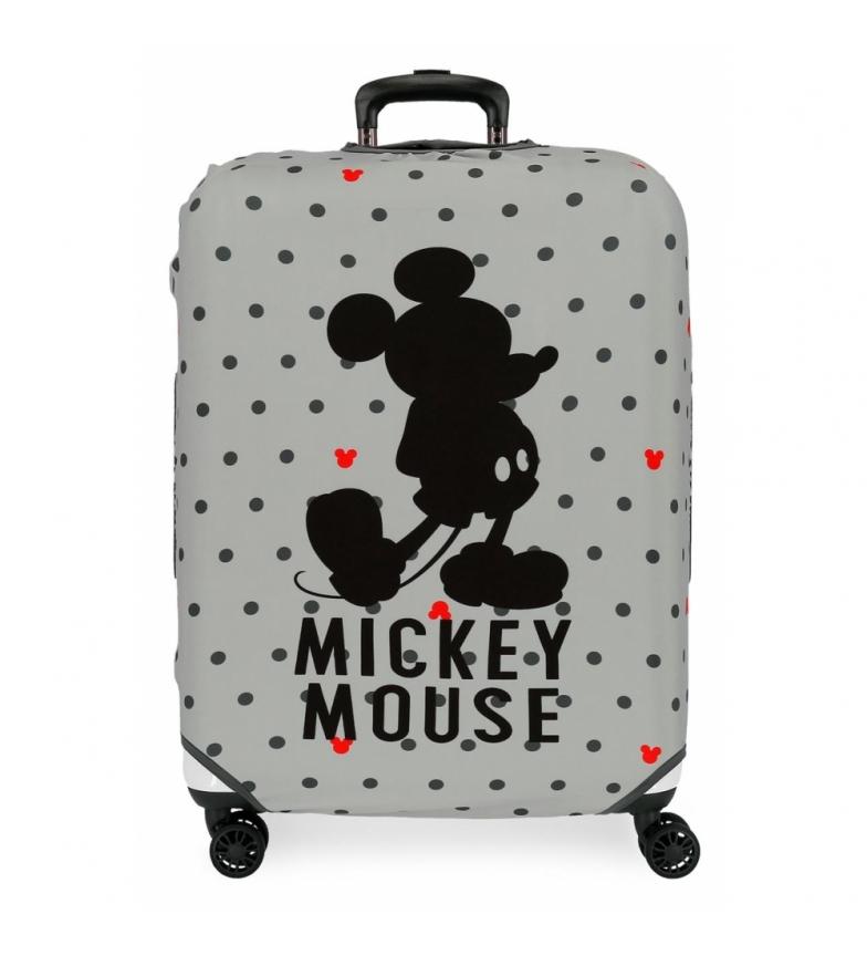 Comprar Mickey Copri valigia media grigio Topolino -48x60x26cm-