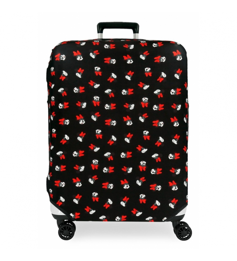 Comprar Minnie Cover for medium suitcase Minnie black -48x60x26cm