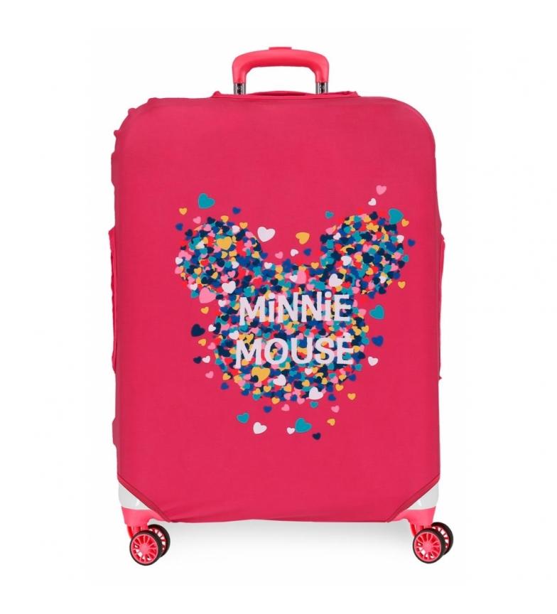 Comprar Minnie Cover for medium suitcase Minnie fuchsia -48x60x26cm