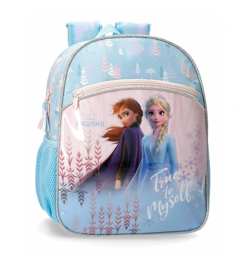 Comprar Frozen Sac à dos préscolaire congelé fidèle à moi-même bleu -27x33x11cm