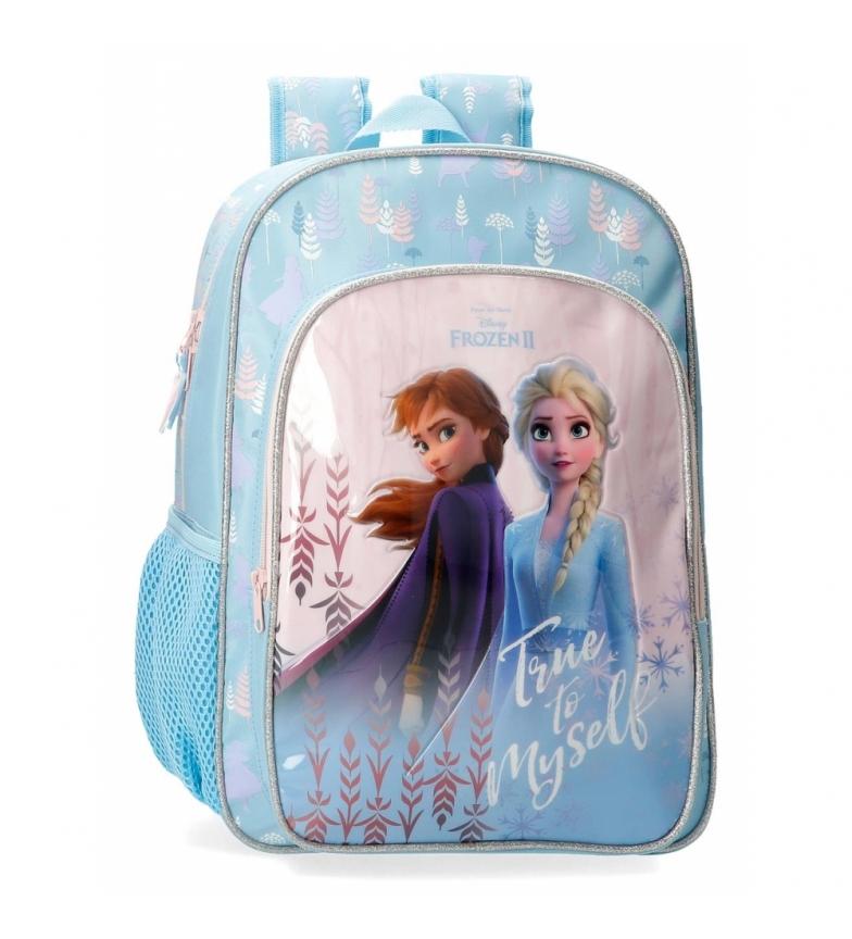 Comprar Frozen Sac à dos congelé fidèle à moi-même bleu -32x40x12cm